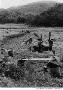 1955 真如禅寺 云居山 Cloud Abode Mountain. The farm.
